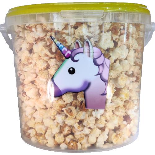 Grand seau de popcorn sucré